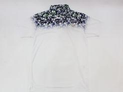 1004(テンオーフォー)/FlowerGladationPolo106006Blue(XL)