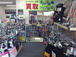 泉北ゴルフセンター GOLFショップ店内写真2