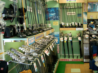 ゴルフ ドゥイング 店内写真1