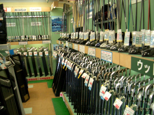 ゴルフ ドゥイング 店内写真2