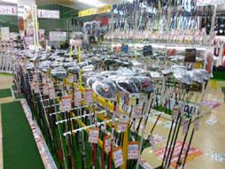 ゴルフマンモス松山店 店内写真1