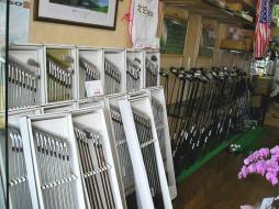 ジャストインゴルフ 店内写真2