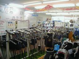 ゴルフキング古城店 店内写真2