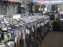 ゴルフキング三好店 店内写真1