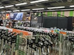 ゴルフスポーツプリンス南紀店店内写真2