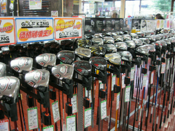 ゴルフキング名古屋石川橋店 店内写真1
