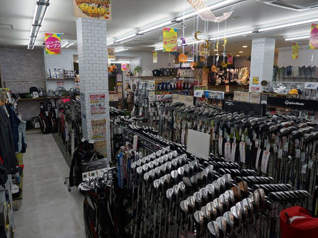 ゴルフキング尾張旭店 店内写真1